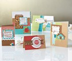 Sample greeting cards from our exclusive Cricut Art Philosophy Collection cartridge