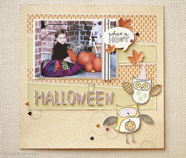 "Wish your friends a ""Happy 'Owl'oween"" with our August STOM set!"
